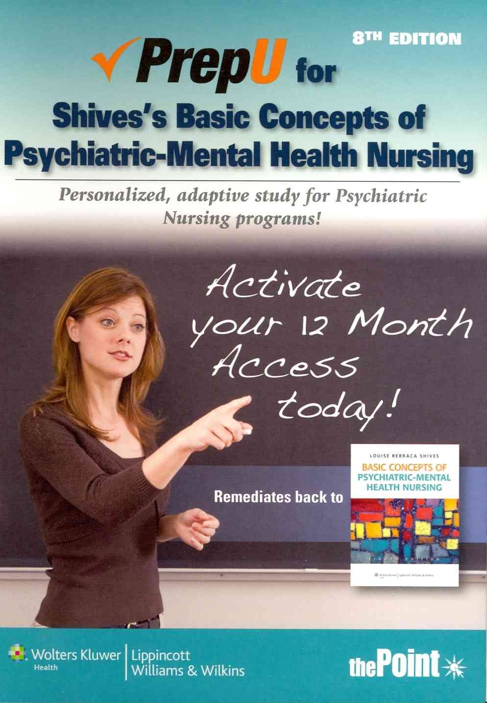 Basic Concepts of Psychiatric-Mental Health Nursing Prepu By Shives, Louise